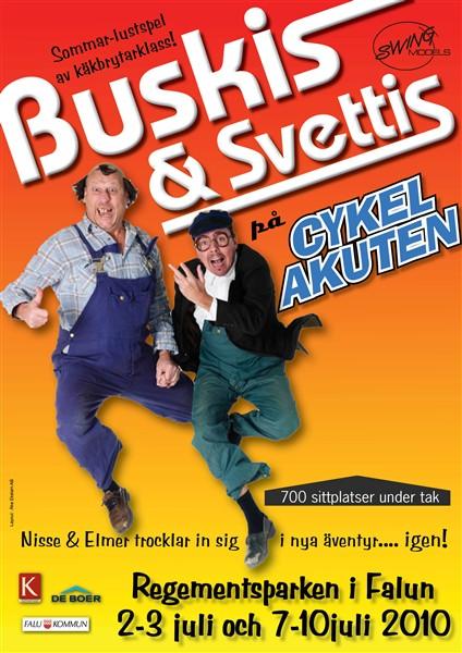 Buskis och Svettis